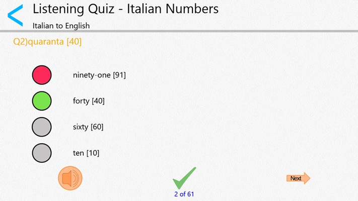 Quick and Easy Italian Lessons