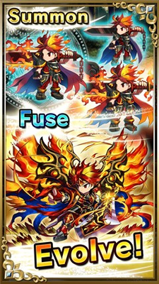 Summon, Fuse and Evolve your heroes!