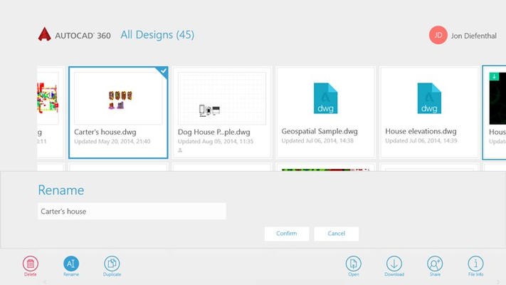 Organize your files with ease.
