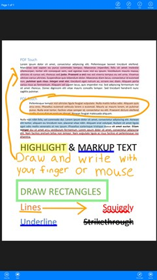 Add all types of annotations to PDFs