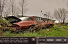 An Abandoned Car in After the Apocalypse. Surface Pro. Actual Image Higher Resolution.