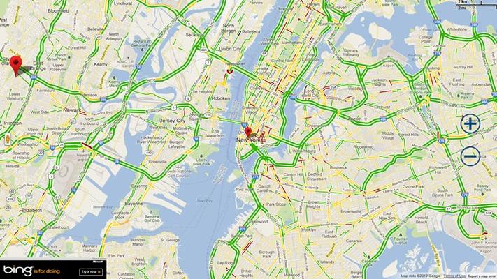 Live Traffic Details
