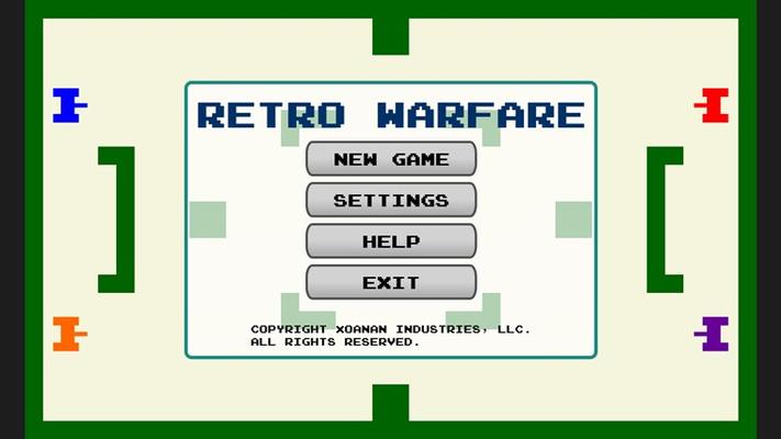 Welcome to Retro Warfare!