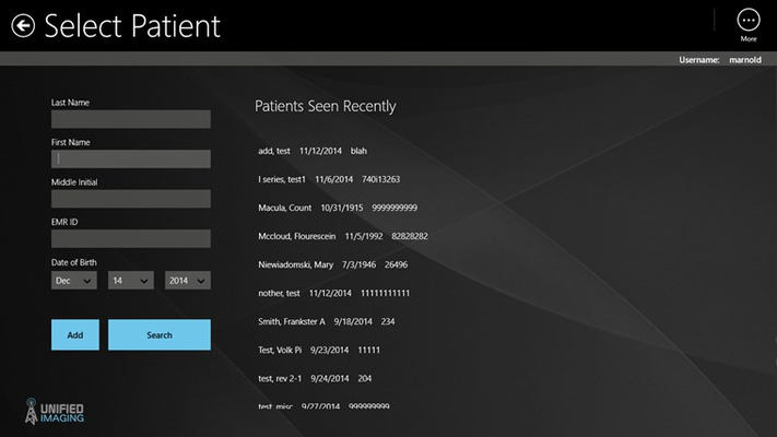 Add and edit patient lists