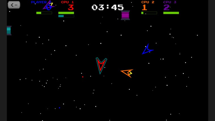 Take your game to outer space.
