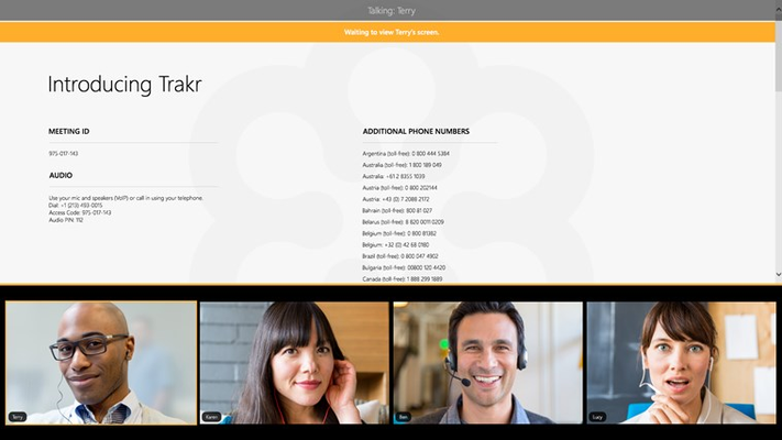 GoToMeeting for Windows 8