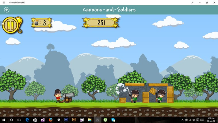 Blackmoon Games HD for Windows 8