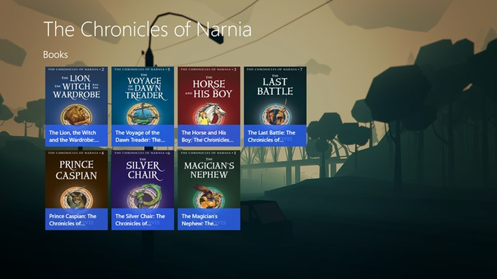 The Chronicles of Narnia Audiobook for Windows 8