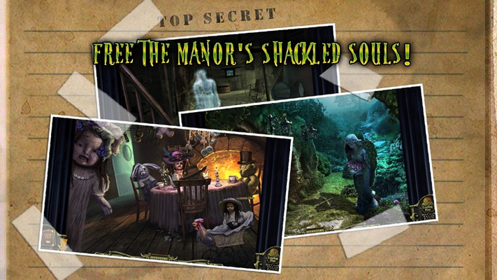Free the manor's shackled souls!