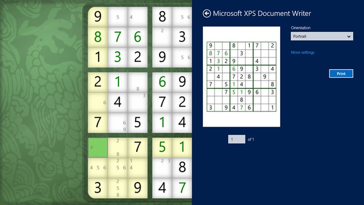 Print puzzles to take them with you, even if you're not bringing your computer.