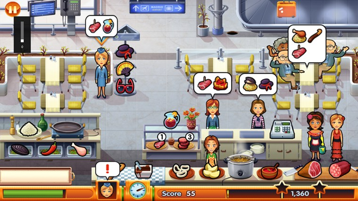 Manage your own restaurant at the airport!