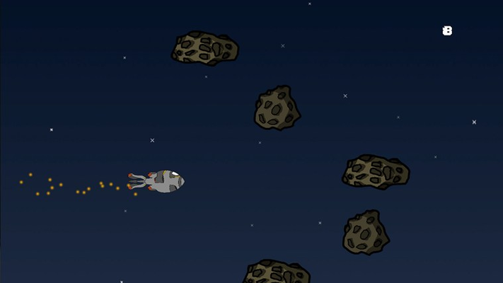 Avoid asteroids!
