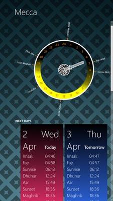 Prayer Times Pro for Windows 8