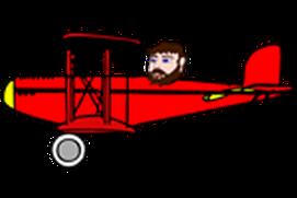 Biplane Versus UFO
