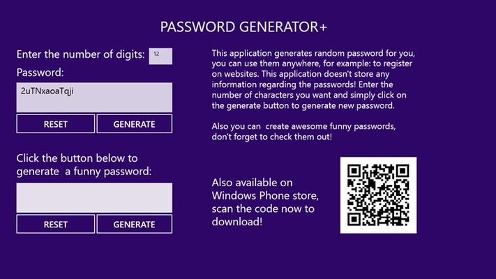Creating a secure password.