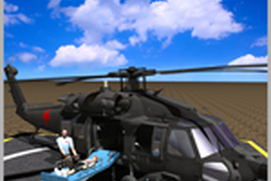 Army Helicopter Ambulance - City Rescue Operation