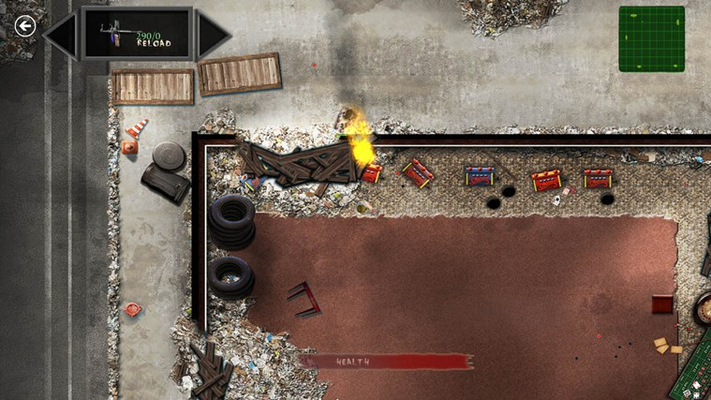 Flamethrower, RPG and lots of guns