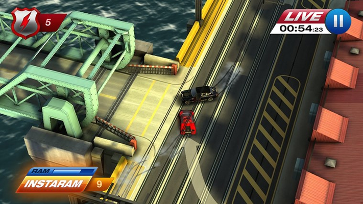 Chase down bad guys in super fast police chases