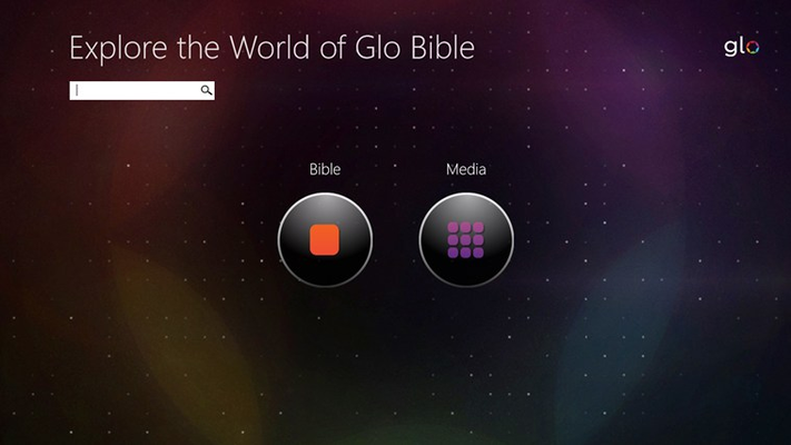 Explore the World of the Bible with Glo. Search or explore the Bible or Media Lenses.