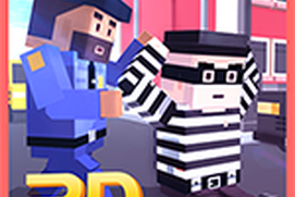 Blocky Robbers VS Cop Craft