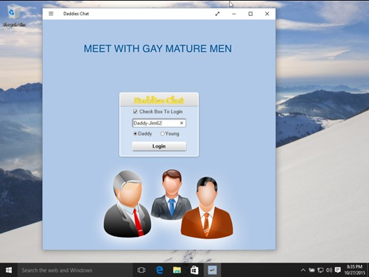 Gay DaddiesChat for Windows 8