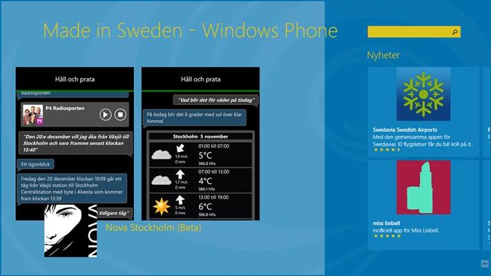 En app som är i rampljuset och nya appar