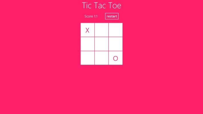 The Classic Tic Tac Toe