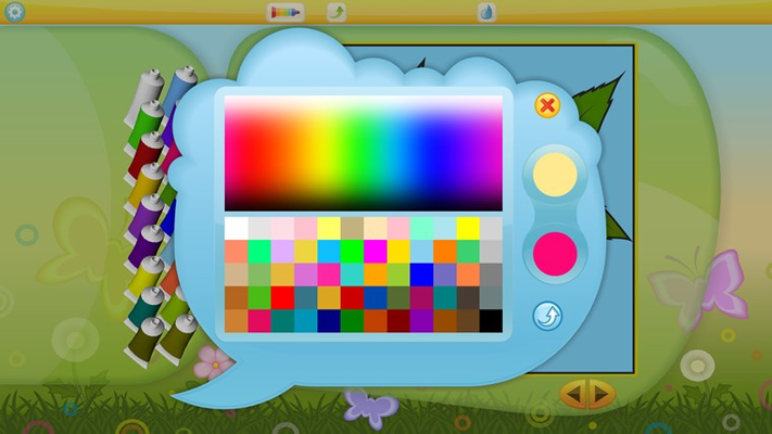 Easy-to-use palette that allows you to put together your own unique set of colors