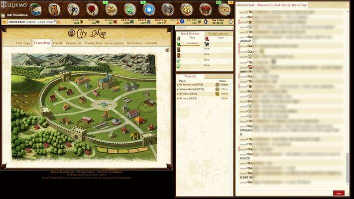 Illyriad - MMO Grand Strategy for Windows 8