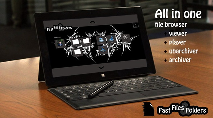 Fast Files And Folders for Windows 8