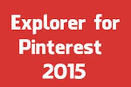 Pinterest Explorer 2015