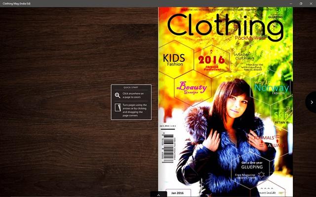 Clothing Magazine for Windows 8