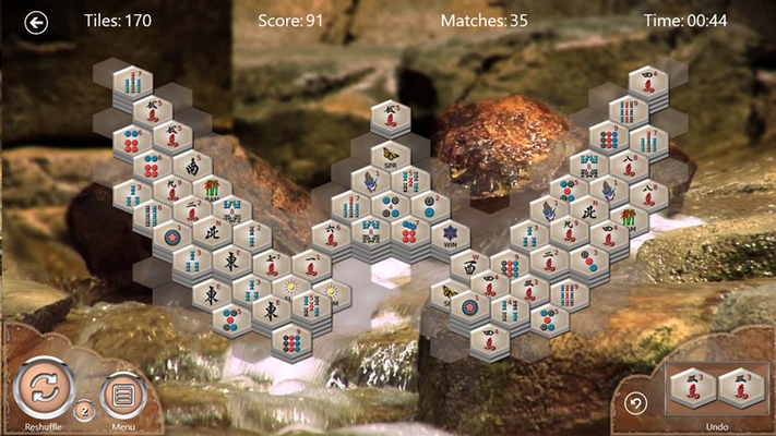 Solve a series of puzzles with different layouts and varying levels of difficulty.