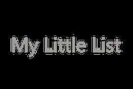 My Little List