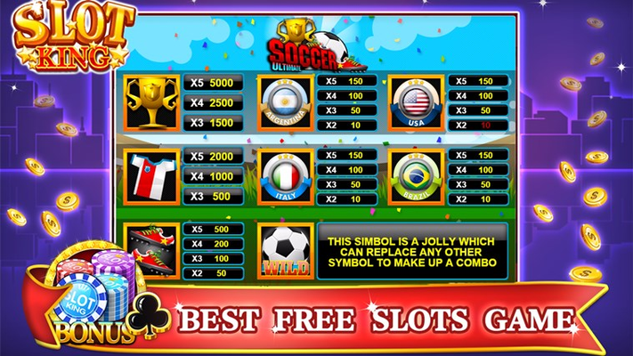 Slot Machine Ultimate Soccer for Windows 8
