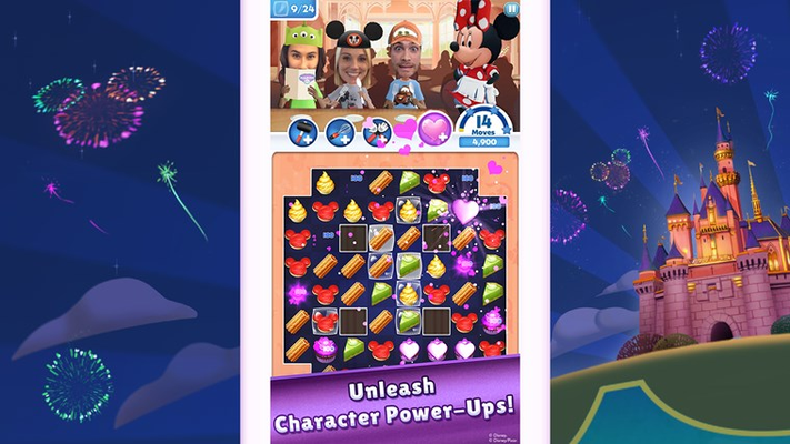 Unleash Character Power-Ups!