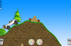 Hills level pack with grassy, steep slopes