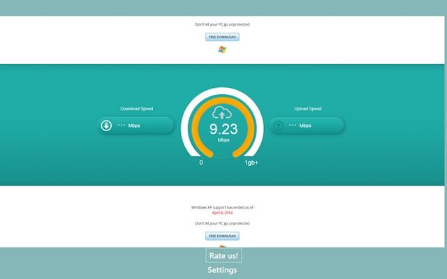 Test Internet Speed Now for Windows 8