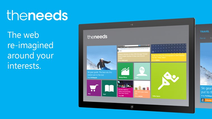Theneeds brings you the web you love tailored to your interests, in one beautiful place.