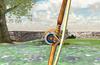 Aiming at a close target.