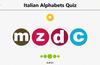 Italian Alphabets Quiz