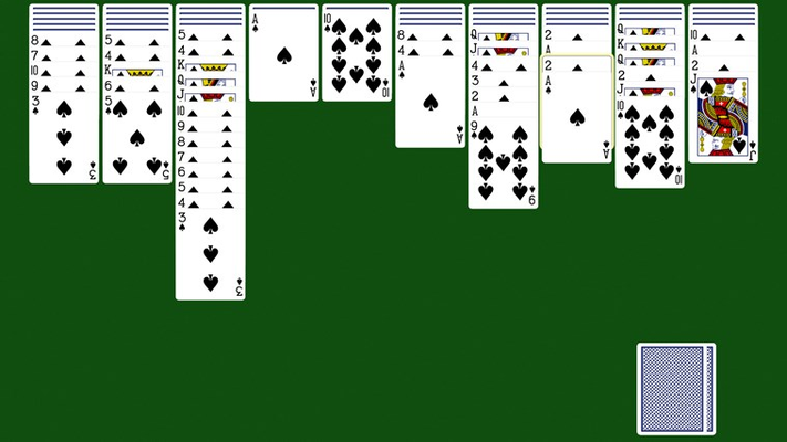 Clear the deck, win spider solitaire!