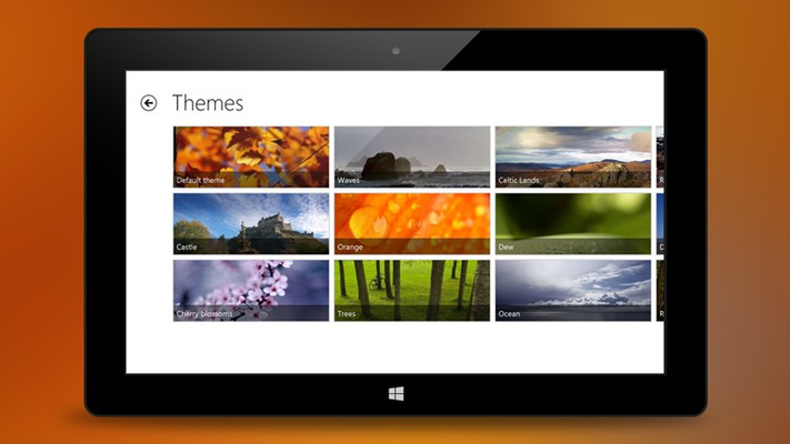 Choose a built-in theme or create your own * Graphically enhanced (tablet)