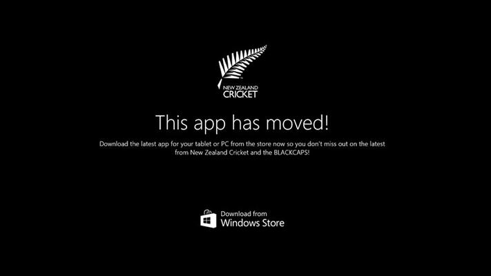 New Zealand Cricket for Windows 8
