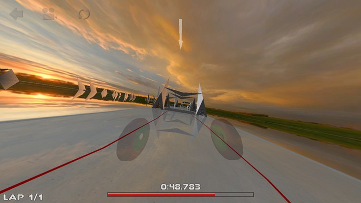 On-board camera view mode is supported