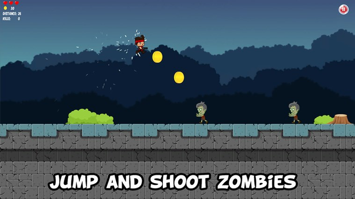 Zombie Run Free for Windows 8