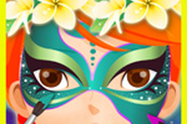 Face Paint - Makeover Game for Girls