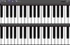 GrandPiano Lite. Two Keyboards