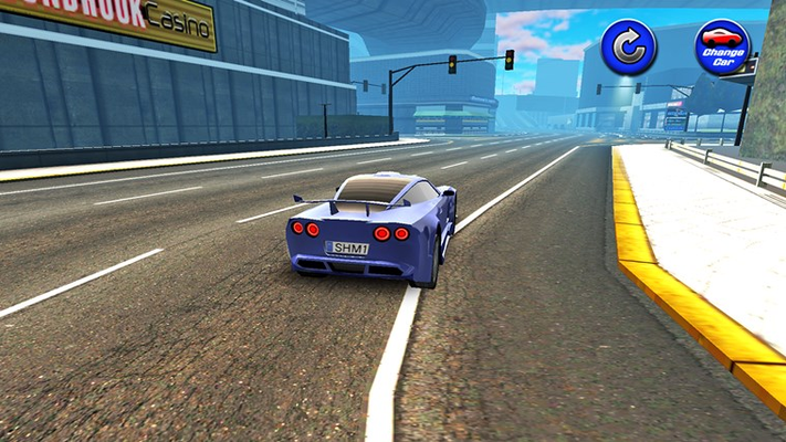 High Speed Car Simulation.