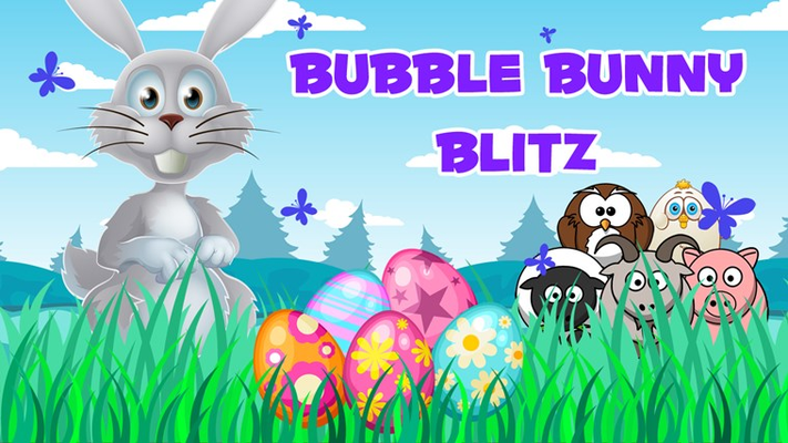 Bubble Bunny Blitz is a classic bubble shooting game with Easter theme